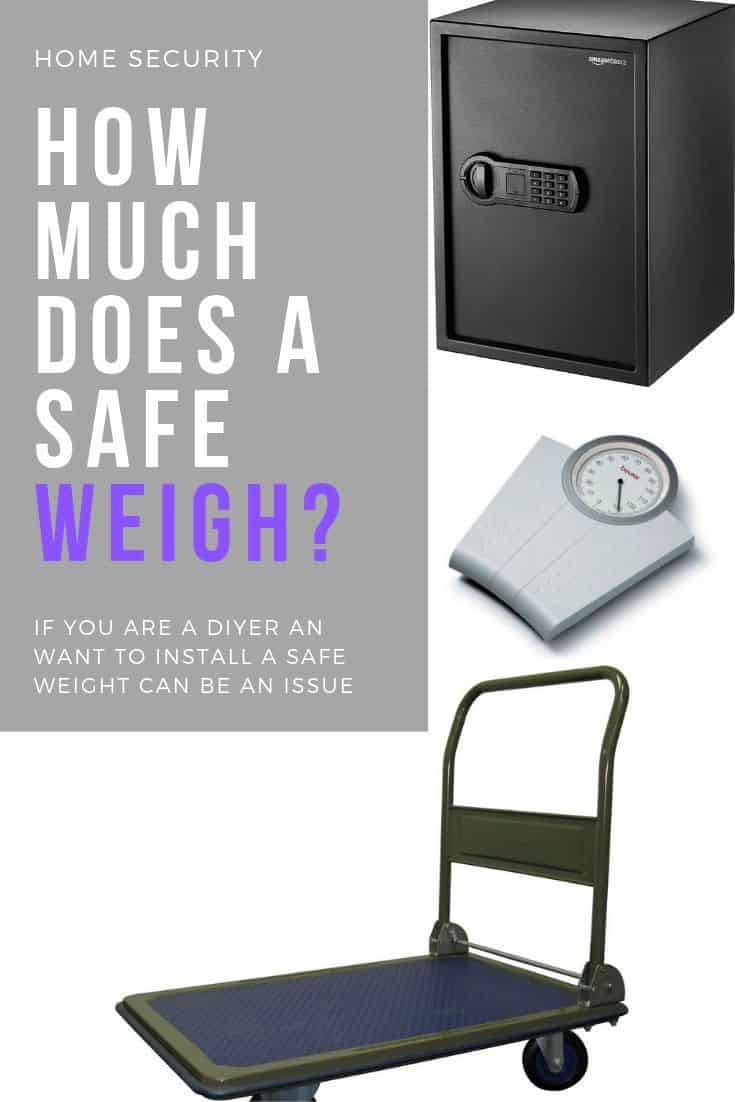 How much does an Average Safe Weigh ? | Safe and Cosy